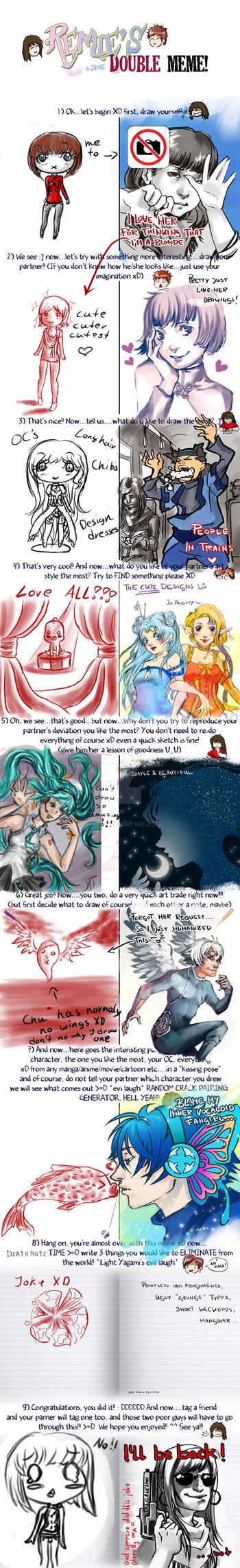 Double Meme Ashai-C by Aine55