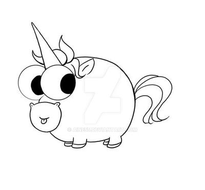 Cute Unicorn Coloring Pages - GetColoringPages.com | 371x400