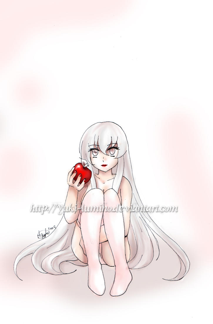 Red lips by Yuki-Lumino