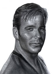 Captain James T .Kirk by RodgerHodger