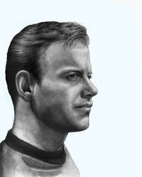 Captain Kirk 3 quarter View by RodgerHodger