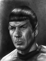 SPOCK      Pensive  full   1  SMALLER by RodgerHodger