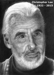 Christopher Lee - 1922 - 2015 by RodgerHodger