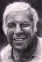 George Kennedy    Smaller  1925 - 2016 by RodgerHodger