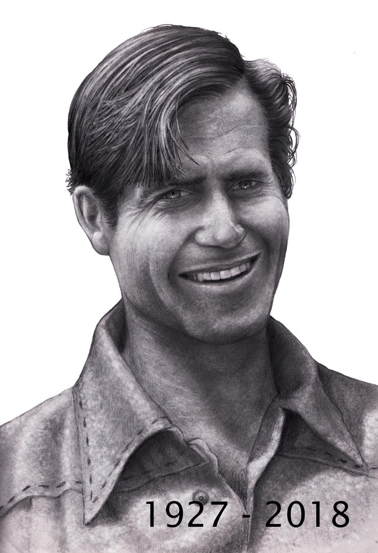 Clint Walker     1927 - 2018  SM by RodgerHodger