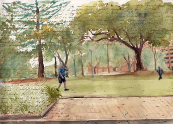 Journal - Hyde Park - Sydney Thursday jan 17  - SM