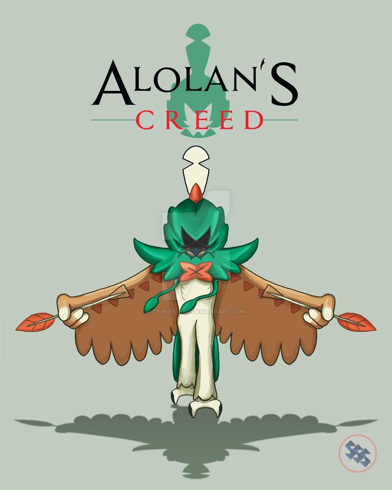 Alolan's Creed - Decidueye by TripleS-Art