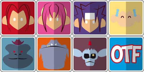 Otakufest+ Icons by OtakufestSaltillo