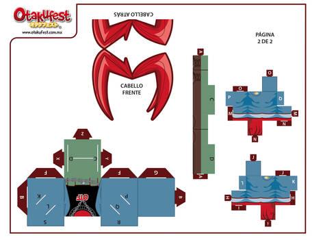 Papercraft TAKU (2)