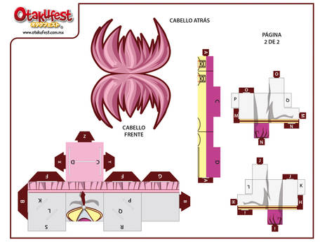 Papercraft TINA (2)
