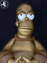 Homero Simpson Buda by JBerlyart
