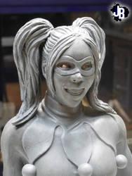 Harley Quinn Sculpture by JBerlyart