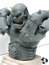 Garrosh Hellscream in progress by JBerlyart