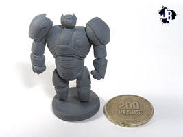 Miniature Baymax by JBerlyart