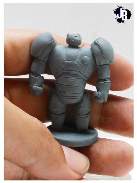 Miniature Baymax by JBerlyart