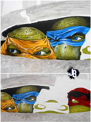 TMNT by JBerlyart
