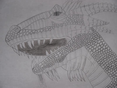 Dragon Head Verson 1 by Minecraft9997