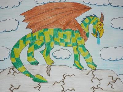 Scotish Dragon by Minecraft9997