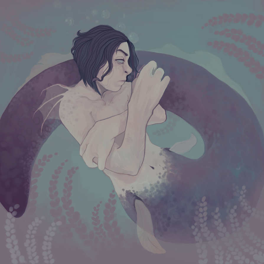 mermaid by rottingworm