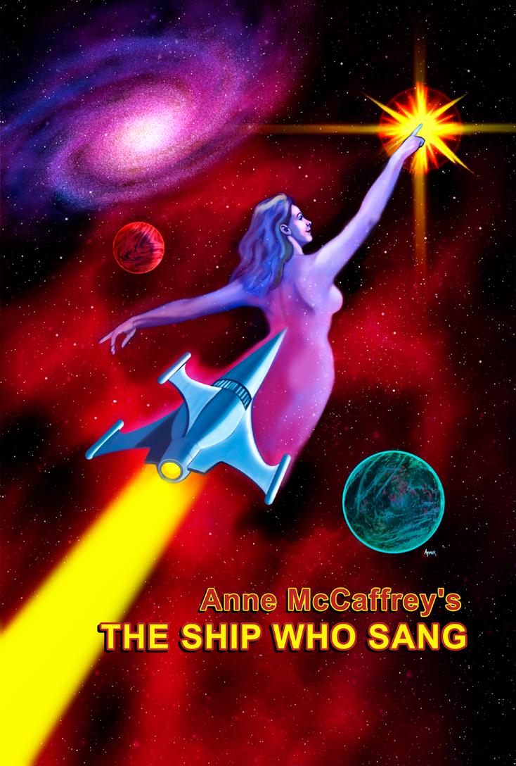 The Ship who Sang Poster Concept by cubist1234