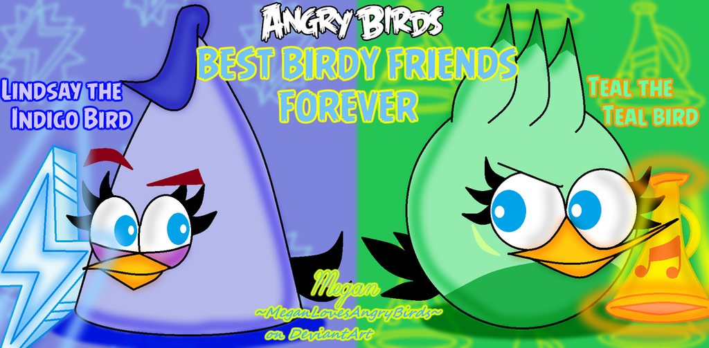 Angry Birds Best Birdy Friends: Lindsay And Teal By