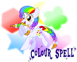 MLP: FIM OCs -Colour Spell by MeganLovesAngryBirds