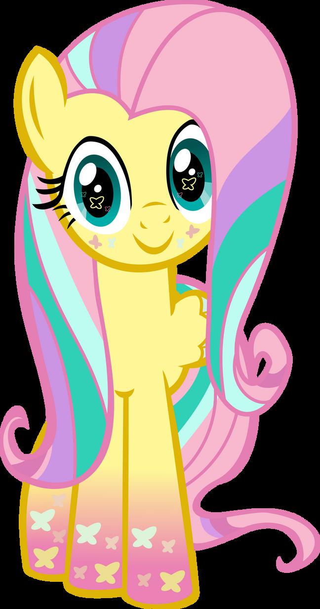 Rainbowfied Fluttershy Hug by MeganLovesAngryBirds