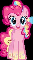 Rainbowfied Pinkie Pie Hug