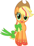 Rainbowfied Applejack Hug
