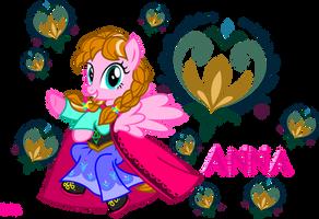 Princess Anna of Marendelle by MeganLovesAngryBirds