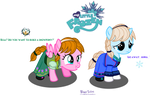 Filly Princess Anna and Filly Queen Elsa