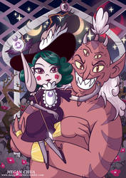 Eclipsa the Queen of Darkness by MeganLovesAngryBirds