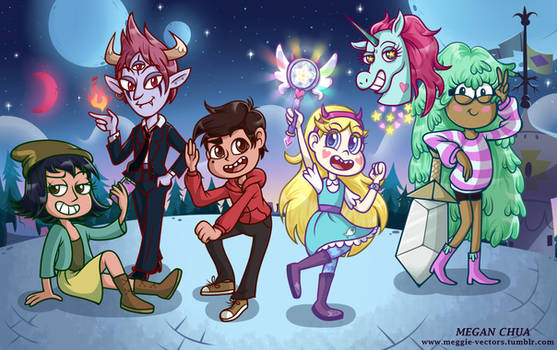 Star VS The Forces of Evil Season 3 by MeganLovesAngryBirds