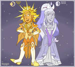 Helios and Selene Lineup [Zodiac Starz]