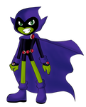 Raven The Gothic  Beast Boy by BeastGreen