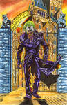 Joker recreation after Lee Bermejo