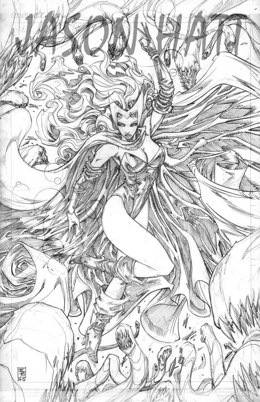 Scarlet Witch by warpath28