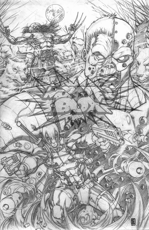 Deadpool Deathlok Weapon X Dead  Soldiers by warpath28