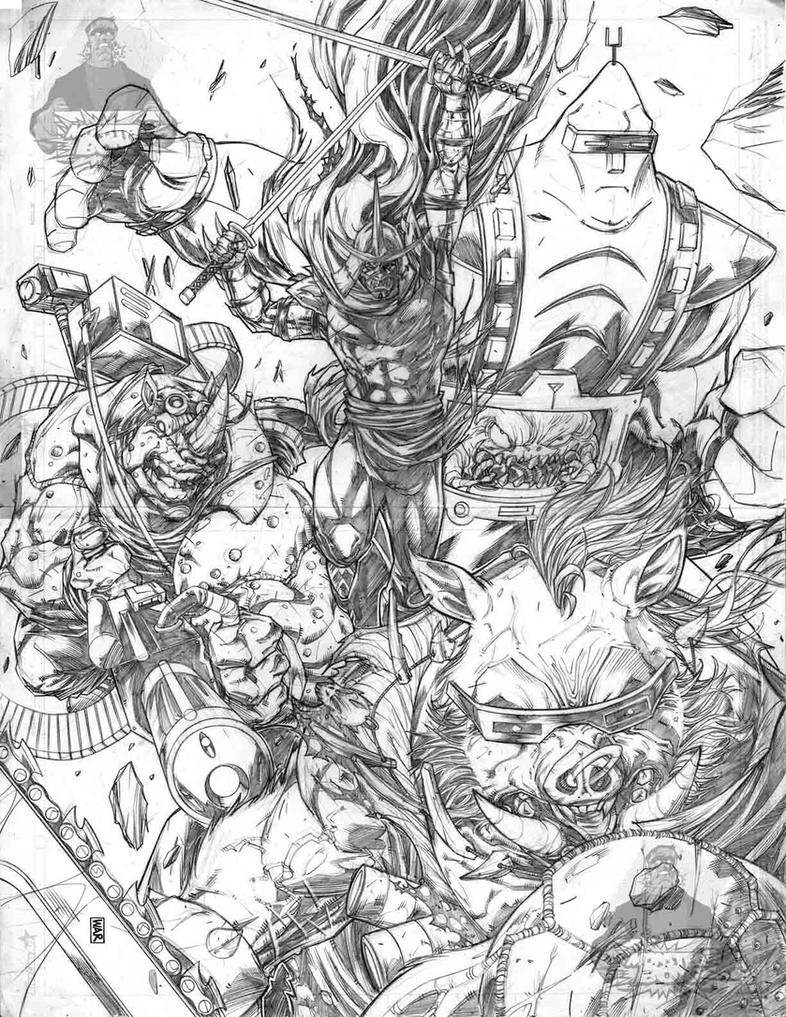 TMNT Villains by warpath28