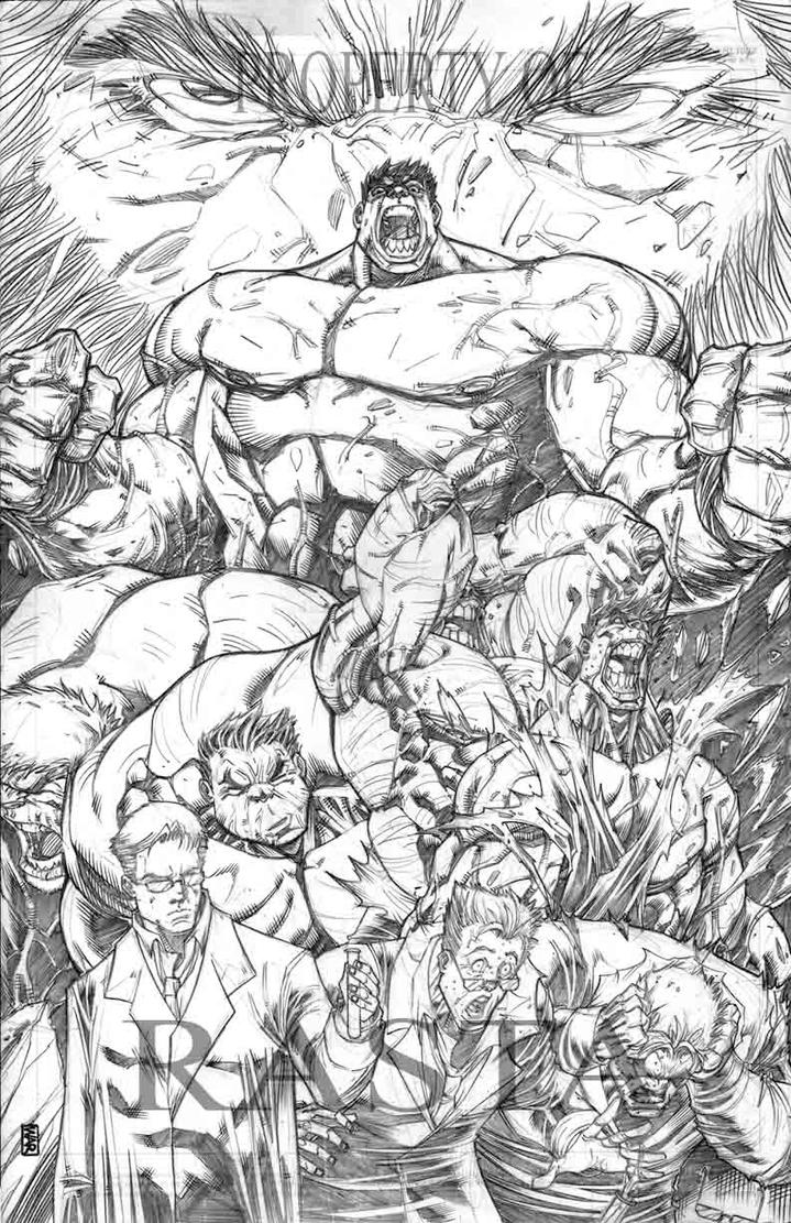 Hulk transformation by warpath28