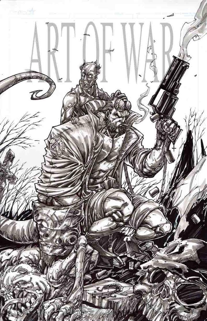 Hellboy by warpath28
