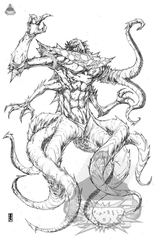 Kraken for Monster Box by warpath28