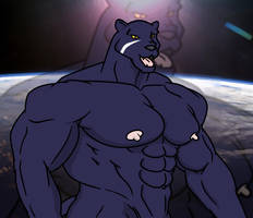 The Panther Grows More by WolfoxOkamichan