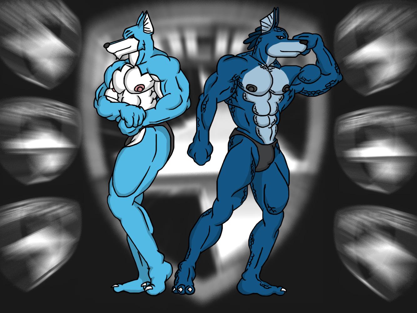 Power rangers doggie kruger porn - Doggies posedown on deviantart jpg  1333x1000