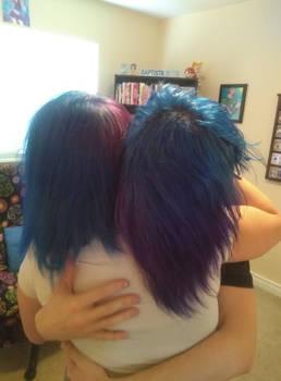 Matching Hair