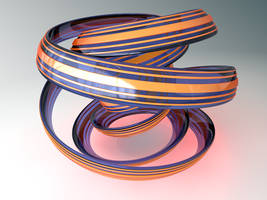 TWISTED TORUS KNOT by bo-dion