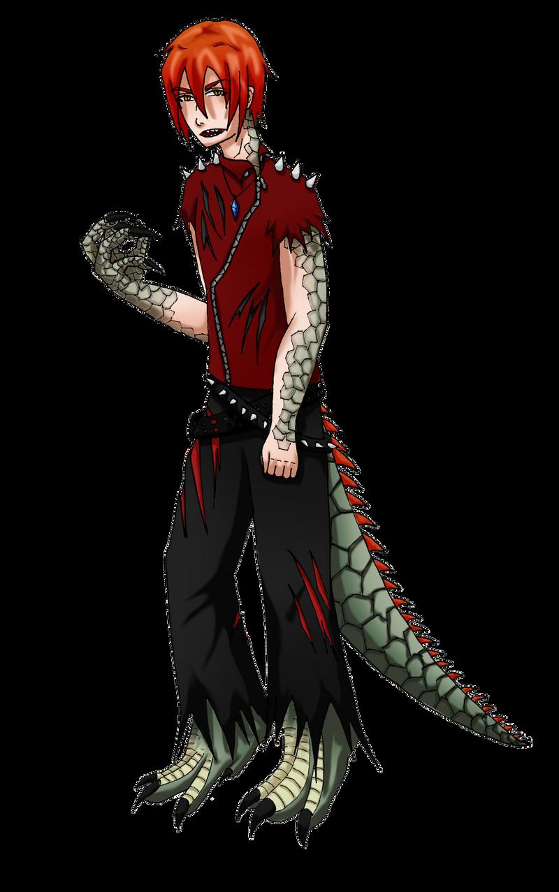 Damien's new look by Gaaralover-chan