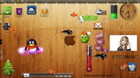 apple screen shot +widgets
