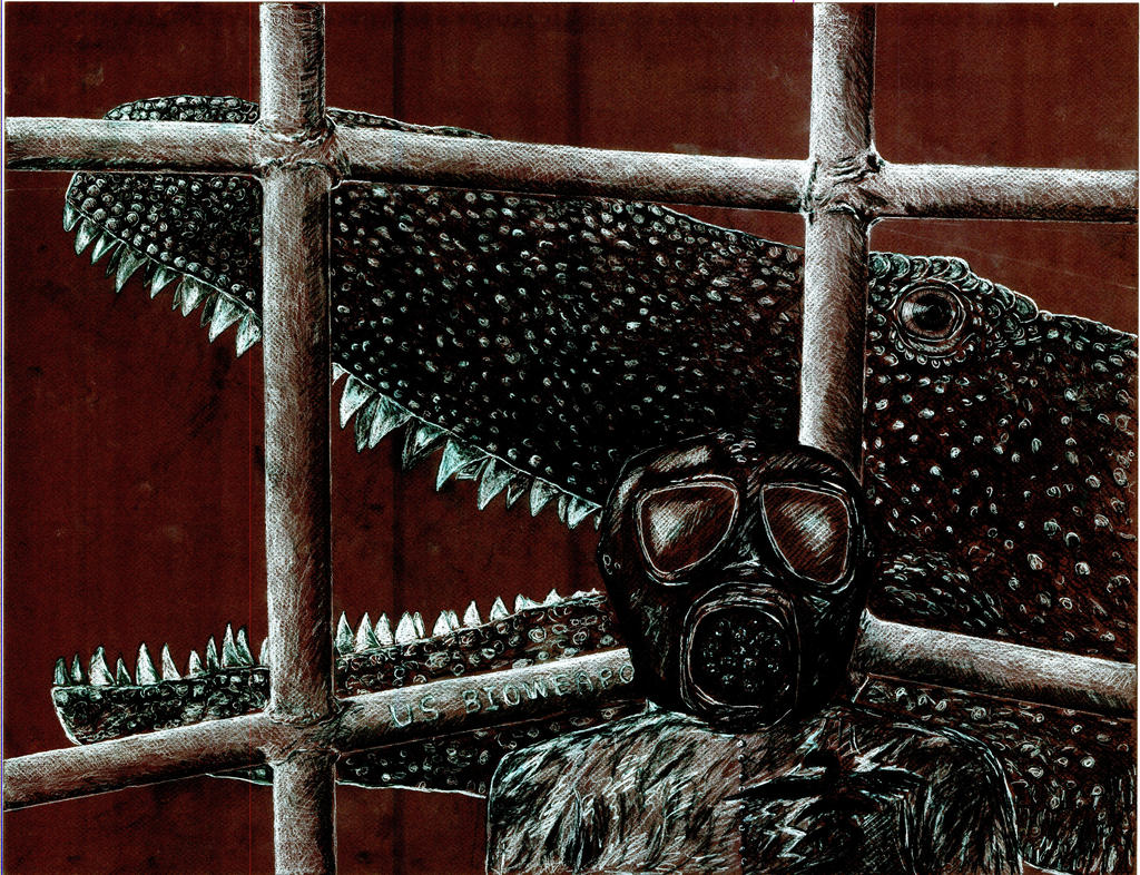 Carch Shark Cage Redrum 2 by NashD1