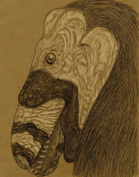 UtahraptorMug DRKR#3 SEPIA by NashD1